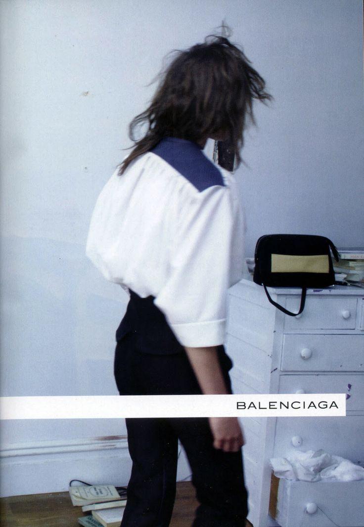 Moda in Segni: Balenciaga Spring Summer 2012 AD Campaign ( IV  V Look )