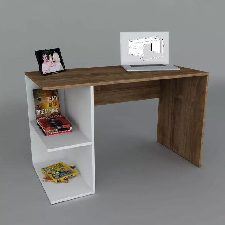 Escritorio Melamina Moderno - Oficina - Mesa Pc - Notebook - - $ 1.760,00 en Mercado Libre
