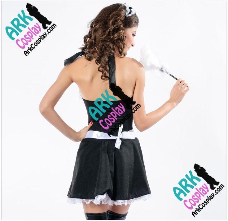 Костюм горничной секс костюм черный и белый костюм горничной хэллоуин костюмы для женщин