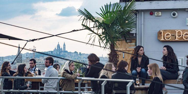 Paris' Best Outdoor Terraces and Rooftop Bars
