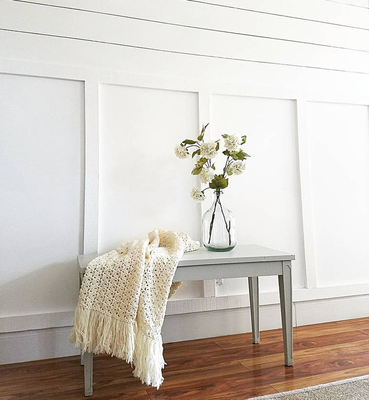Friends meet my new shiplap and board and batten w…