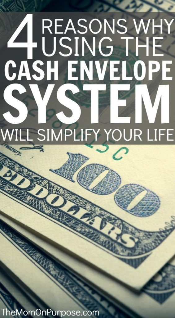 Have you considered switching to a cash budgeting system, but aren't sure if it's for you? Here are 4 ways it can simplify your life today!