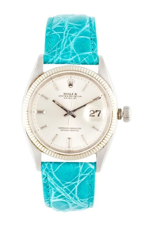 Vintage Rolex Stainless Steel And 18K White Gold Datejust by CMT Fine Watch and Jewelry Advisors for Preorder on Moda Operandi
