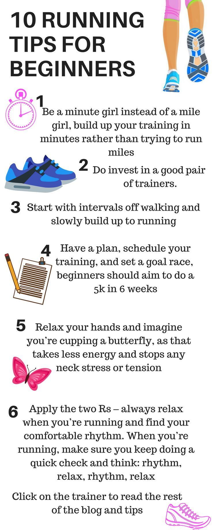TIPS TO MAKE RUNNING EASIER