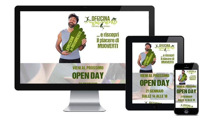 Landing page per evento Open Day: http://www.officinadelmovimento.fit/openday_210117/  - Phoenix Image