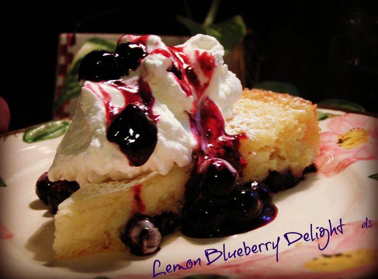 Yum... Id Pinch That! | Lemon Lemon Blueberry Delight Cream Cheese Cake