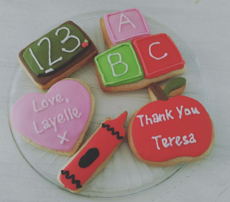 End Of Year Cookies @thelittlebakingco
