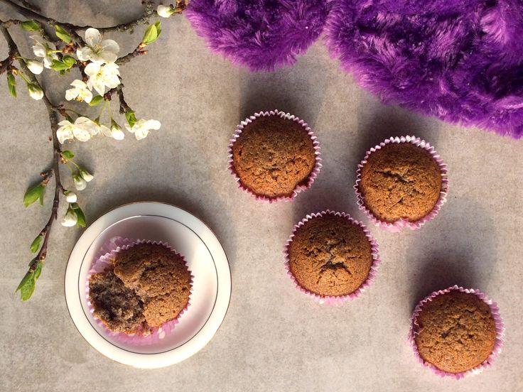 Makové muffiny z kokosové mouky
