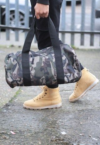 RESTOCK+-+Camouflage+Duffle+Bag