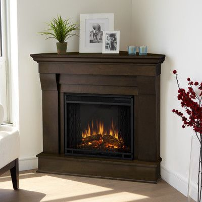 Chateau Corner Electric Fireplace Fireplaces Master Bedrooms And Style