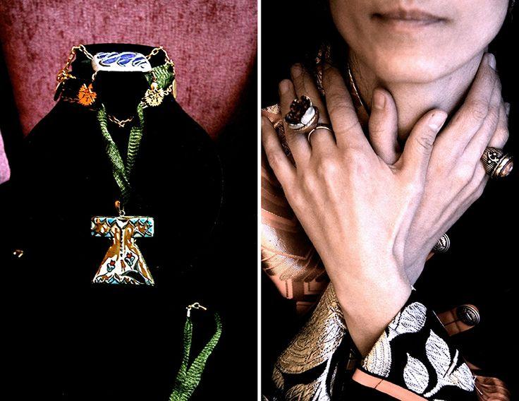 #artpieces ''Sufi''-Tasarım-Takılar___''Sufi''-Jewelery-Designs #ceramic #handmade #unique #jewelleryart
