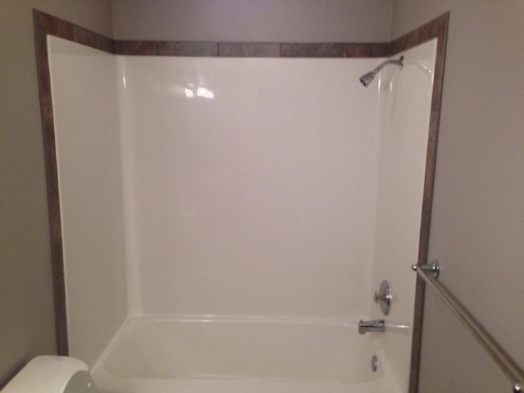 neat way to customize your fiberglass shower outline it with a nice