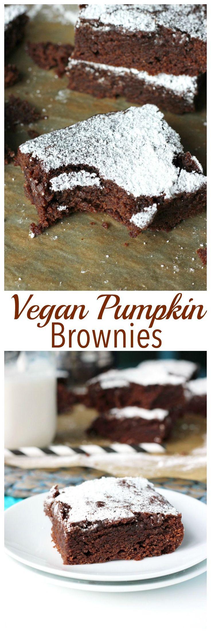 Pumpkin Brownies Pinterest'te | Brownie, 21 Günde Onarım ve 21 Gün ...