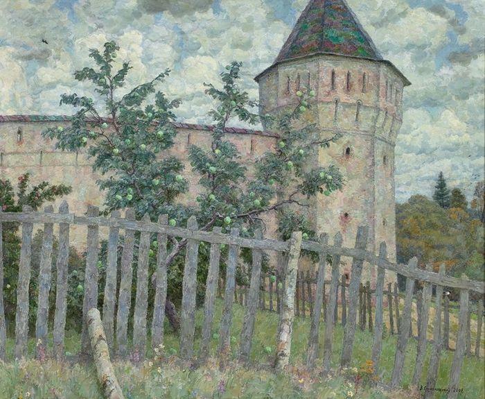 Стекольщиков Вячеслав Константинович (род. 1938) Северная яблоня (2008):