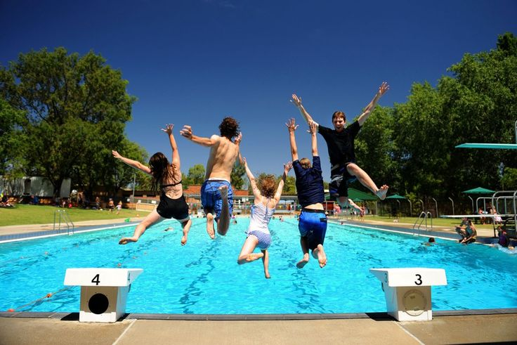 Mudgee Town Pool. Photo by Amber Hooper.