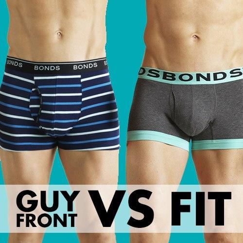 Guy Front vs Fit!
