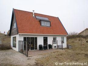 Vakantiehuis Konijnehol in Midsland aan Zee op Terschelling Te huur via: www.Konijnehol.op-Terschelling.nl