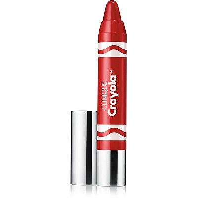 Clinique Crayola Chubby Stick Moisturizing Lip Colour Balm Brick Red (Intense). Get vibrant, nourishing color with Clinique Crayola Chubby Sticks - loaded with mango and shea butters so lips feel comfortably soft and smooth. Limited edition, in shades sheer to intense. These products are allergy tested and 100% fragrance free.