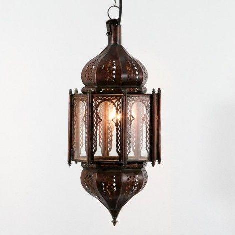 Lampa sufitowa HANIYA transparentna