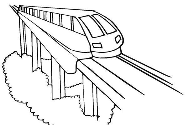Gambar Kereta Api Kartun Berwarna Mewarnai Gambar Kereta Api Kartun Gambar Kartun Warna