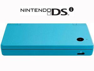 Nintendo DSi Matte Blue Handheld System w/ Charger