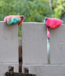 Rainbow mittens by Pipo&mitten