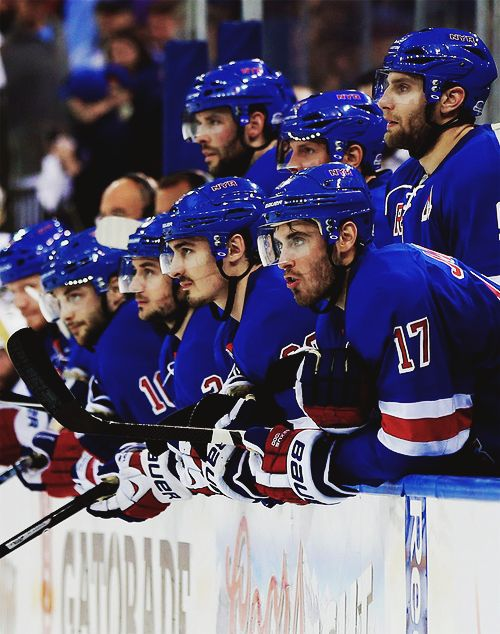 New York Rangers. So proud of this team, came back from being down 3-1 in the series to take the game 7 win to move onto the next round! Words cannot describe how excited I am to know the season isn't over yet