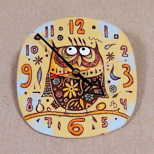 Часы СОВА | КОРН - керамика в Новосибирске