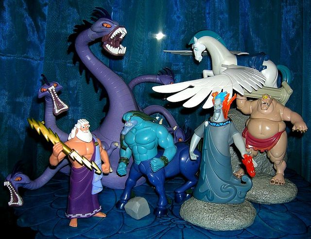 Toys For Hercules : Disney hercules action figures i want them