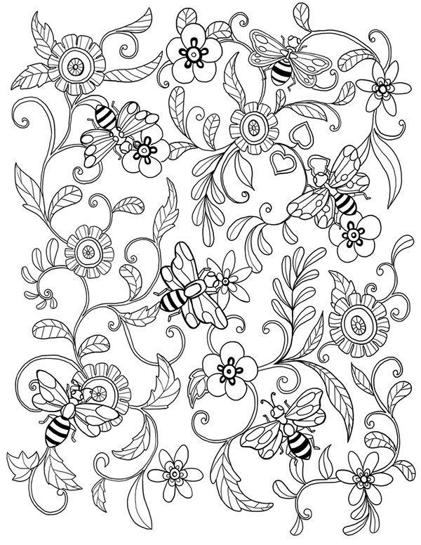 46 best iColor  - best of bee coloring pages preschool