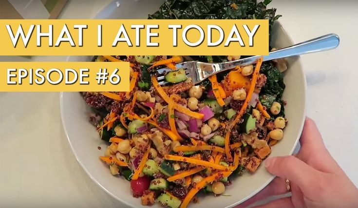 What I Ate Today: Episode 6 - YouTube