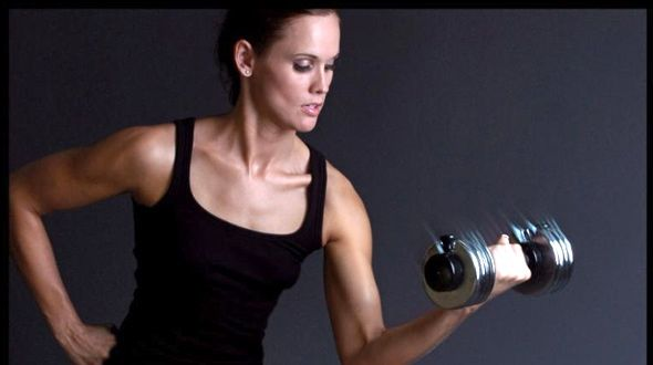 7 reasons women should lift heavy weights: 1. Toned arms ...