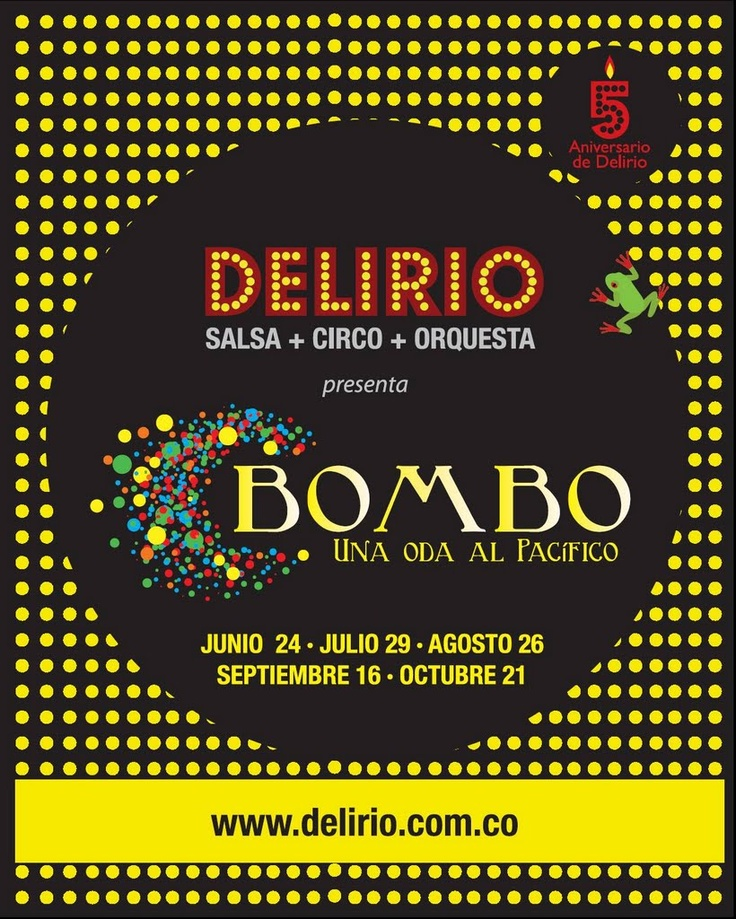 'Bombo', una alabanza al Pacífico colombiano que relata la migración de sus gentes y su cultura, al bullicio de una Cali triétnica y multicultural.