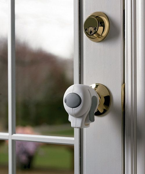 Take a look at the White Door Knob Lock - Set of Four on #zulily today!