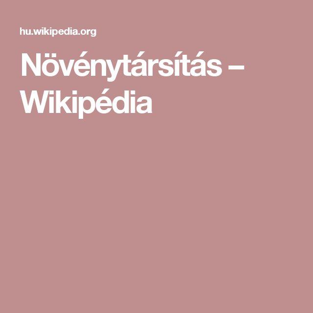 Növénytársítás – Wikipédia