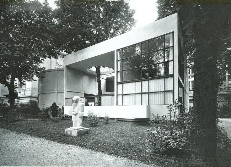 Le Corbusier, Pavillon de L'Esprit Nouveau op Expo 1924 Paris