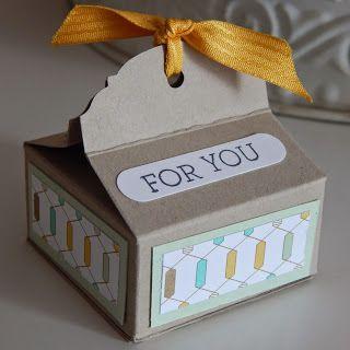 Papierkult: Anleitung zur kleinen Box