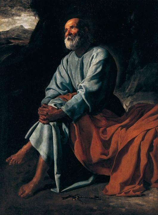 Diego Velázquez The Tears of Saint Peter, c. 1617-19Private collection (Colección Villar Mir, Spain)