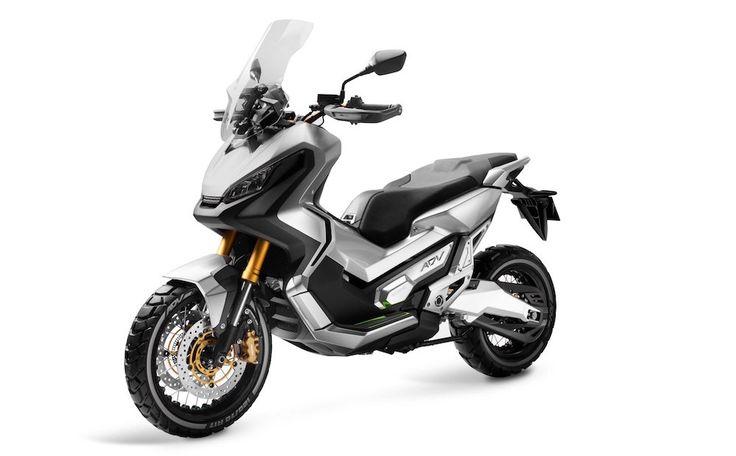 Honda City Adventure Concept, le scooter tout-terrain - http://www.leshommesmodernes.com/honda-city-adventure-concept/