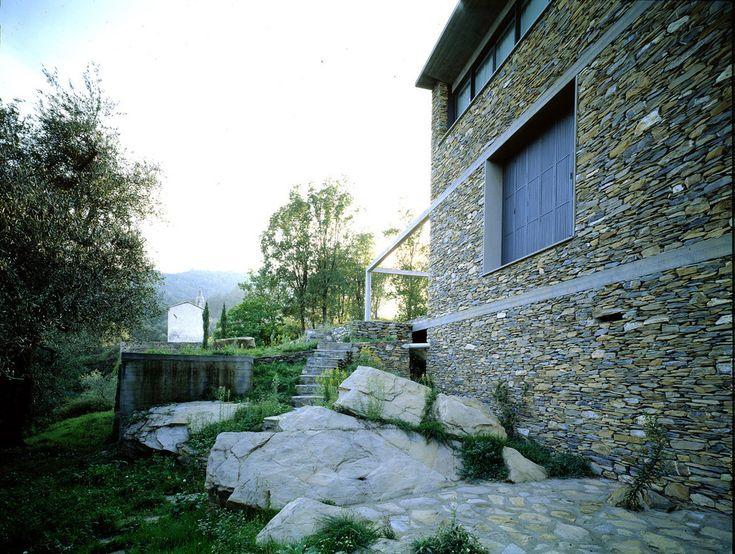 Herzog & de Meuron - Stone house, Tavole 1988. Via Margherita Spiluttini.
