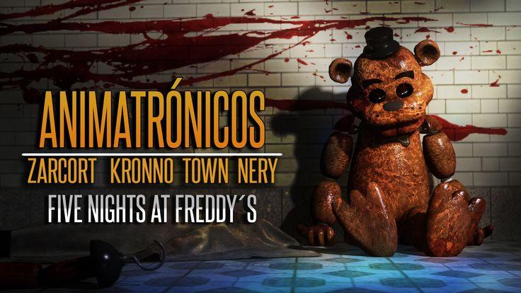 ANIMATRÓNICOS RAP   Five Nights at Freddy's   ZARCORT-KRONNO-NERY-ITOWN ...
