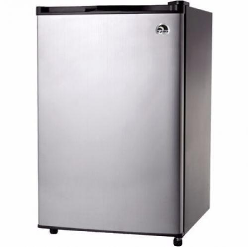 Compact Refrigerator Freezer Dorm Mini Under Counter 4.6 cu ft Stainless Steel #CompactRefrigeratorFreezer