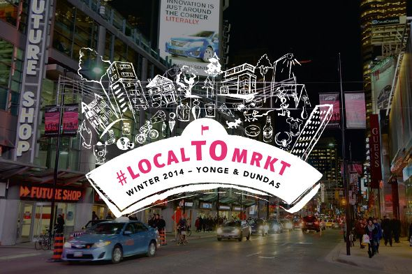 A new pop-up is about to transform the vacant lot at 335 Yonge St., just north of Dundas, into a winter wonderland of handmade local goods. (And you thought Dundas Square was impersonal.) The new marketplace, dubbed #localTOmrkt, will allow local designers and artisans to showcase their wares to holiday...