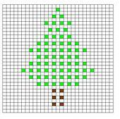 Ravelry: Christmas Tree Bobble Chart pattern by Kari Philpott