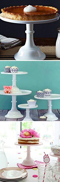 "Tall Cake Stand. Mosser Glass 12"" Milk Glass Cake Plate/stand.  #tall #cake #stand #tallcake #cakestand"