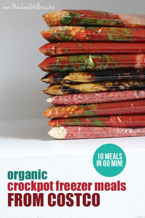 Kelly from New Leaf Wellness shows you how to make 10 Organic Freezer Meals from Costco in just 60 minutes. Here's what she made: Two freezer bags of Italian chicken Two freezer bags of Asian chicken and vegetable potstickers Two …