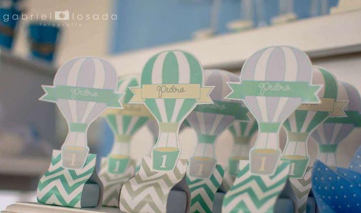 Amazing Hot air ballon Birthday Party Ideas | Photo 7 of 19