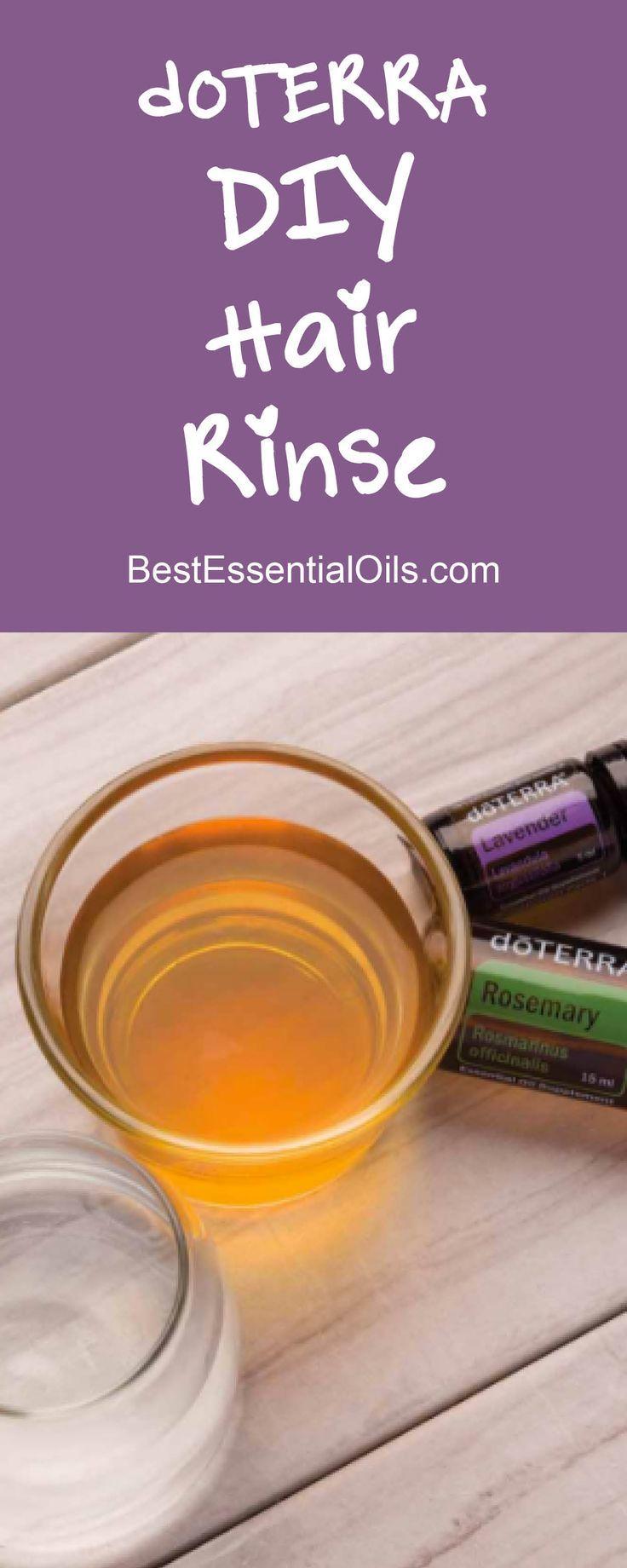 doTERRA DIY Rosemary Lavender Hair Rinse Recipe