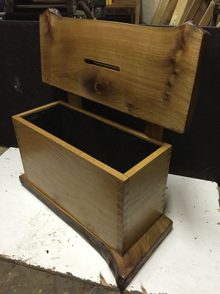 Oak & elm wedding box