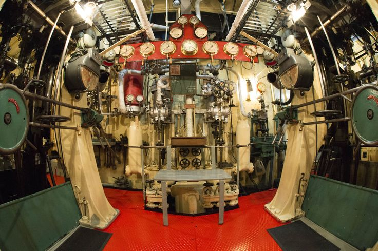 Should a fish ever make it on board, this is how the engine room would look on the historic steam tug William C. Daldy